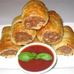 Simple sausage rolls recipe