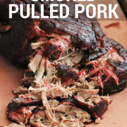 Simple Smoked Pulled Pork Butt/ Shoulder