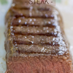 Simple Sous Vide Steak