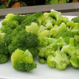 Simple Steamed Broccoli