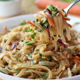 Simple Thai Noodle Bowl (SO EASY!)