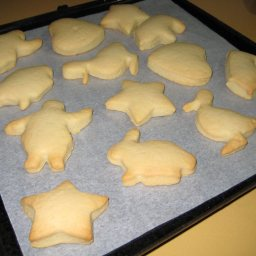 Simple Vanilla Biscuits( Cut-out )