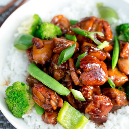 Simple Chicken Teriyaki Stir Fry