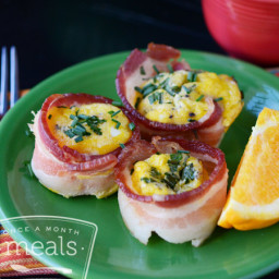 Simple Paleo Egg Cups