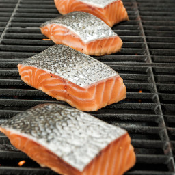 Simplest Grilled Salmon