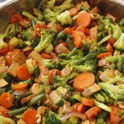 Simple Veggie Stir-Fry