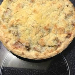 Simply Fantastic Rhubarb Custard Pie