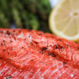 Simply Grilled Salmon