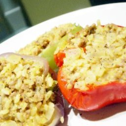 Simply Scrumptious Stuffed Peppers