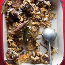Sindhi Biryani (Spiced Goat and Rice Pilaf)