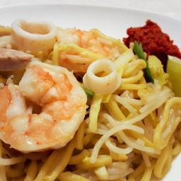 Singapore Hokkien Mee (Noodle)