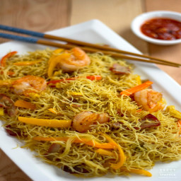 Singapore-Style Rice Vermicelli