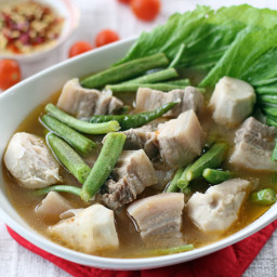 Sinigang (Pork Stew in Tamarind Broth)