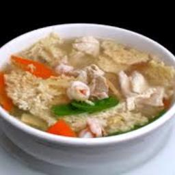 Sizzling Rice Soup (1+)