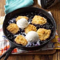 Skillet Blueberry Slump Recipe