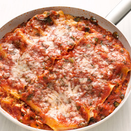 Skillet Lasagna with Butternut Squash