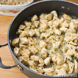 Skillet Lemon Pepper Chicken