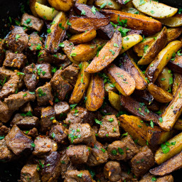 Skillet Steak & Potatoes