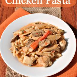 Skinny Cajun Chicken Pasta