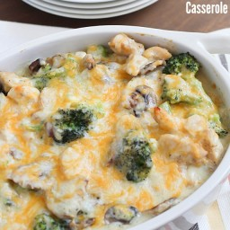 Skinny Chicken and Broccoli Casserole