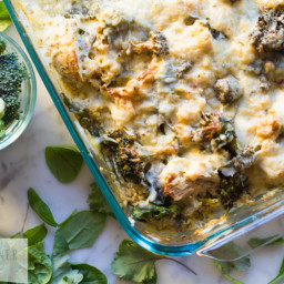 Skinny Chicken Broccoli and Quinoa Casserole