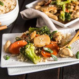 Skinny Chicken Broccoli Stir Fry