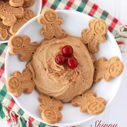 Skinny Gingerbread Dip