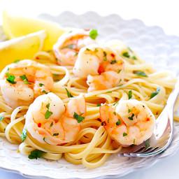 Skinny Shrimp Scampi