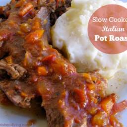 Skinny Slow Cooker Italian Style Pot Roast