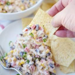 Skinny Southwest Chicken Salad recipe