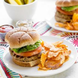 Skinny Worcestershire Turkey Burger