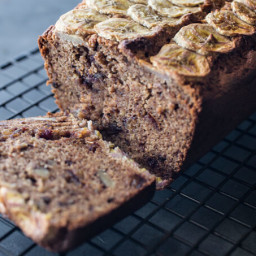 skinnymixer's Banana, Walnut and Date Loaf