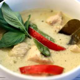 skinnymixer's Thai Green Chicken Curry