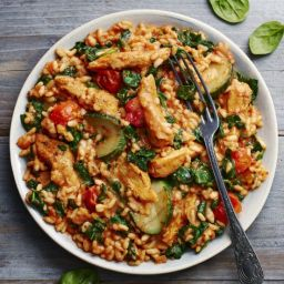 Slimming World mediterranean chicken risotto