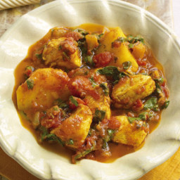 Slimming World's chicken and potato curry