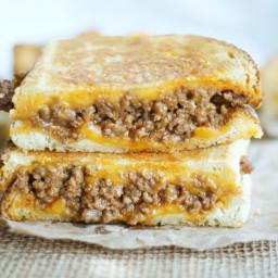 Sloppy Joe Grilled Cheese Sandwiches – 5 Boys Baker