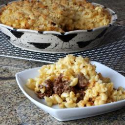 Sloppy Joes and Macaroni and Cheese Get Together in This Dish