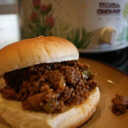 Sloppy Joes In The Crockpot