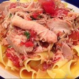 Slow Cook: Wine & Tomato Braised Chicken