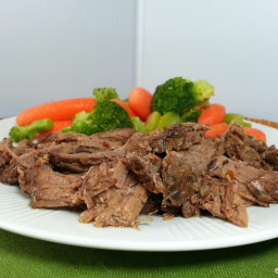 Slow Cooked Barbecue Beef