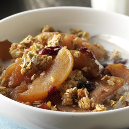 Slow-Cooked Breakfast Apple Cobbler