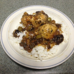 Chicken Tangier - slow cooker