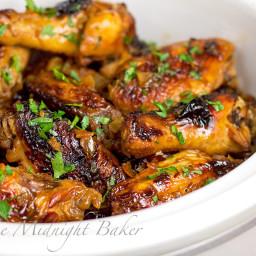 Slow Cooker Asian Orange Wings