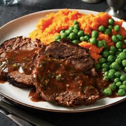 Slow Cooker Balsamic-Braised Pot Roast