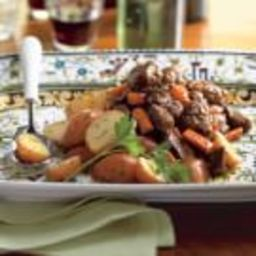 Slow-Cooker Beef Bourguignonne