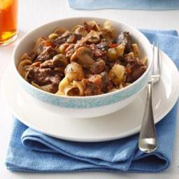 Slow Cooker Beef Bourguignonne Recipe