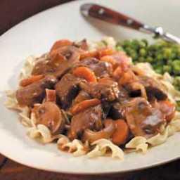 Slow Cooker Beef Burgandy Recipe