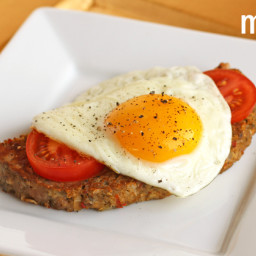 Slow Cooker Breakfast Meatloaf