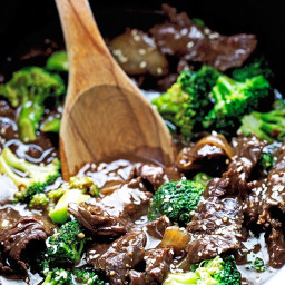 Slow Cooker Broccoli Beef
