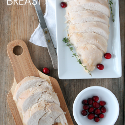 Slow Cooker Butter and Herb Turkey Breast